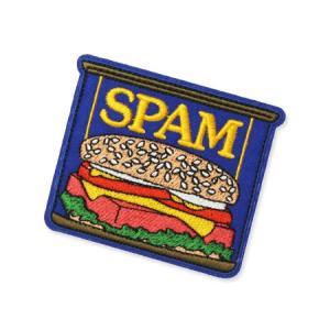 スパム SPAM ワッペン アイロン アメリカン アメカジ おしゃれ かわいい 面白い ジャケット トートバッグ アメリカン雑貨 ロゴ CAN planfirst