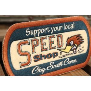 クレイスミス ワッペン Clay Smith SPEED SHOP [アイロン/アメリカ] メール便OK_WP-CSYC132-MON|planfirst|02