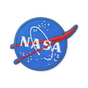 NASA ワッペン アイロン アメリカン アメカジ おしゃれ かっこいい 宇宙 ジャケット アメリカン雑貨 Embroidery Patch ミートボール Insignia planfirst