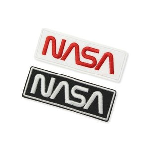 NASA ワッペン アイロン アメリカン アメカジ おしゃれ かっこいい 宇宙 ジャケット トートバッグ アメリカン雑貨 Embroidery Patch Warm Set 2枚セット planfirst