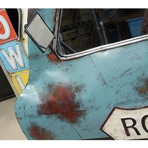 ドア型ウォールミラー 壁掛け鏡 アンティーク調 ルート66 ROUTE66 [車/アメリカ]_ZZ-20521-FEE|planfirst|02