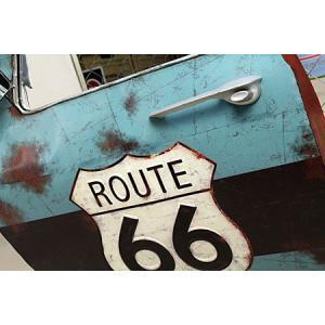 ドア型ウォールミラー 壁掛け鏡 アンティーク調 ルート66 ROUTE66 [車/アメリカ]_ZZ-20521-FEE|planfirst|03