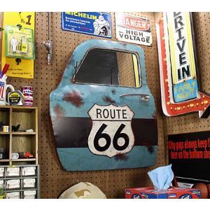 ドア型ウォールミラー 壁掛け鏡 アンティーク調 ルート66 ROUTE66 [車/アメリカ]_ZZ-20521-FEE|planfirst|06