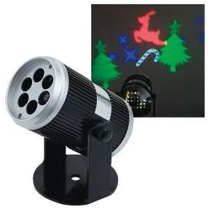 ●天井や壁などに「動く絵柄」を投影するイルミネーションプロジェクター ●投影周期調整可能(静止〜動作...