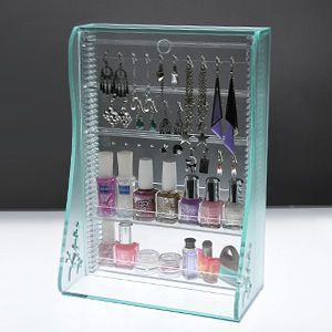 ピアスケース&ネイルケース ガラスマット|plasart