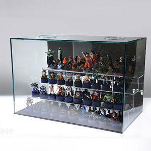 ガルウィングケースガラス色W450 ひな壇付 背面ミラー|plasart