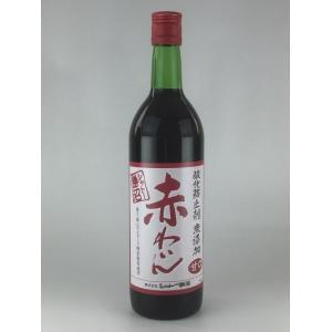 赤ワイン シャトー勝沼 酸化防止剤 無添加 赤わいん 赤甘口 720ml|plat-sake