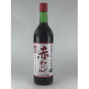 赤ワイン シャトー勝沼 酸化防止剤 無添加 赤わいん 赤中口 720ml|plat-sake