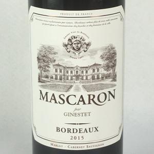 赤ワイン フランス マスカロン ボルドー ルージュ 2015 ボルドーワイン 750ml|plat-sake