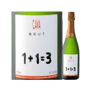 スパークリングワイン ウ メス ウ ファン トレス ブリュット カヴァ 750ml  スペイン|plat-sake