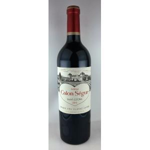 赤ワイン シャトー カロン セギュール 2013 サンテステフ ボルドー メドック3級|plat-sake