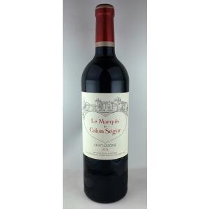 赤ワイン マルキ ド カロン セギュール 2013 サンテステフ ボルドーワイン|plat-sake