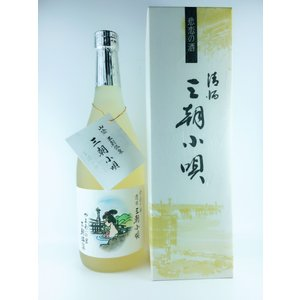 元帥酒造 三朝小唄 吟醸 720ml|plat-sake