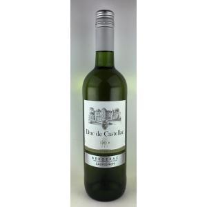 白ワイン デュック・ド・カステラク 白 ベルジュラック 2014|plat-sake