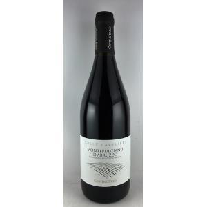 赤ワイン モンテプルチャーノ ダブルッツォ コッレ・カヴァリエーリ  カンティ―ナ・トロ 2015 750ml|plat-sake
