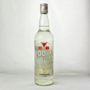 R&B バニラ・ウォッカ 40度  700ml|plat-sake