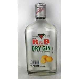R&B ストロング・ブル レモン・ドライ・ジン  350ml|plat-sake