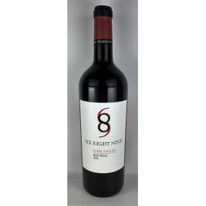 赤ワイン 689シックス・エイト・ナイン ナパ・ヴァレー レッド 2014 750ml plat-sake