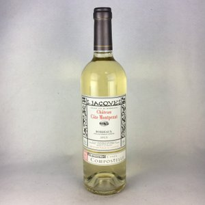 白ワイン シャトー・コート・モンペザ ボルドー・ブラン 20012 キュヴェ・コンポステレ 750ml|plat-sake