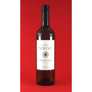 白ワイン フランス アンリ・ノルドック ソーヴィニョン・ブラン  ラングドックルーション 750ml|plat-sake