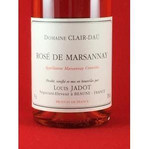 ロゼワイン ブルゴーニュ ルイ ジャド ロゼ ド マルサネ ドメーヌ クレール ダユ 2015|plat-sake