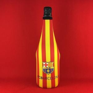 スパークリングワイン スペイン FCバルセロナ ブリュット 保冷カバー付き (赤&黄) 750ml|plat-sake