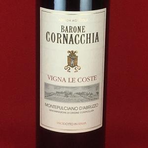 赤ワイン イタリア バローネ コルナッキア モンテプルチャーノ ダブルッツォ  ヴィーニャ レ コステ  2011年 赤ワイン 750ml plat-sake