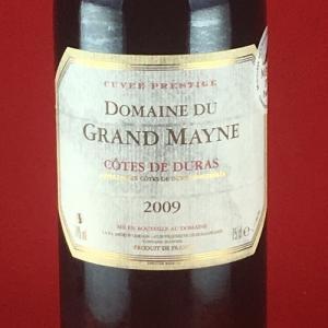赤ワイン 金賞ワイン ドメーヌ・デュ・グラン・メイヌ  2009年 750ml|plat-sake