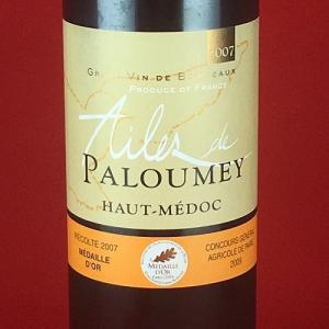 赤ワイン 金賞ワイン エール・ド・パルメイ オー・メドック 2007年 750ml|plat-sake