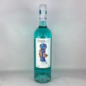 青いワイン ブルーワイン パメラ アズール 750ml スペイン バレンシア|plat-sake