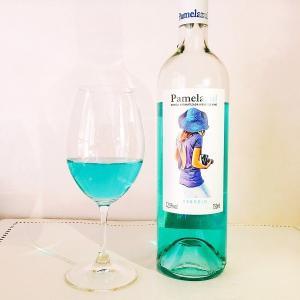 青いワイン ブルーワイン パメラ アズール 750ml スペイン 青いワイン|plat-sake|03