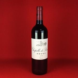 赤ワイン セカンドワイン ラ・シャペル ド ポタンサック 2013 メドック 750ml|plat-sake