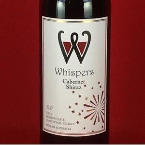 赤ワイン ウィスパーズ カベルネ・シラーズ 750ml オーストラリア|plat-sake