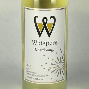 白ワイン ウィスパーズ シャルドネ 750ml オーストラリア|plat-sake