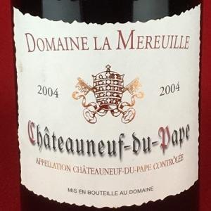 赤ワイン ローヌ シャトー ヌフ・デュ・パプ 2004 ドメーヌ・ラ・ムルイユ 750ml|plat-sake