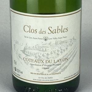 白ワイン ロワール クロ デ サブレ コトー デュ レイヨン 1983 甘口ワイン 750ml|plat-sake