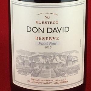 赤ワイン ドンダビ ピノノワール レゼルバ 2015 アルゼンチン 750ml|plat-sake