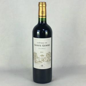 赤ワイン シャトー・ド・サン・ジェム 2012 オー・メドック クリュ ブルジョワ 750ml フランス ボルドー|plat-sake
