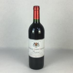 赤ワイン シャトー・サン・ニコラ 1996 フロンサック 750ml フランス ボルドー|plat-sake