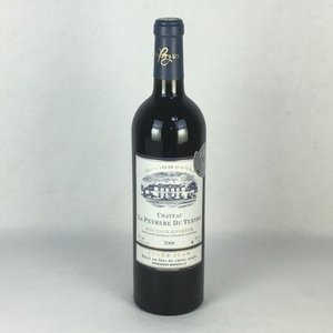 赤ワイン シャトー・ラ・デュ・テルトル 2006 ボルドー シュペリュール 750ml フランス|plat-sake