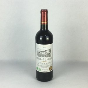 赤ワイン シャトー・ガイヨ コート・ド・デュラ 2016 750ml フランス ボルドー コンクール 2017 金賞受賞|plat-sake