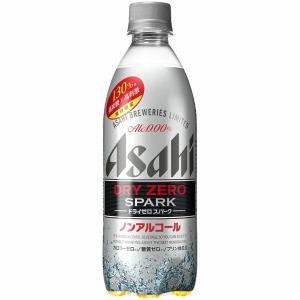 アサヒ ノンアルコールビール ドライゼロスパーク 500ml ペットボトル 24本入  ケース まとめ買い|plat-sake