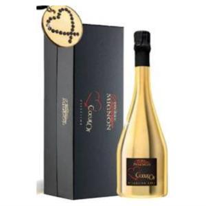 ホワイトデー シャンパン クール・ドール ゴールド ギフトBOX 2008 750ml plat-sake