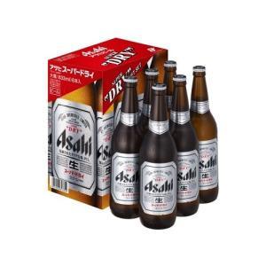 ビール スーパードライ 半ダース詰 EX-6 大瓶 633ml 6本入り アサヒ ビールギフト|plat-sake