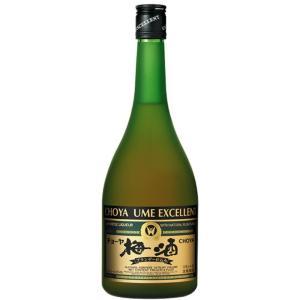 梅酒 チョーヤ エクセレント 750ml ブランデーベース チョーヤ梅酒|plat-sake