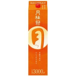 日本酒 普通酒 月桂冠 定番酒 つき 月 3Lパック 月桂冠 3000ml|plat-sake