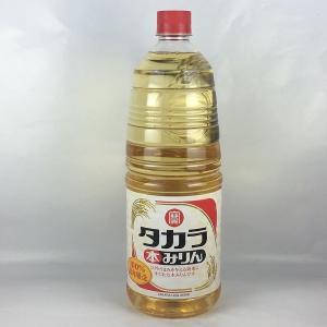 みりん 宝酒造 本みりん 1.8Lペット 味醂 タカラみりん|plat-sake