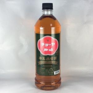 梅酒 チョーヤ ザ・ブラック 1800mlペット ブランデー仕上げ チョーヤ梅酒|plat-sake