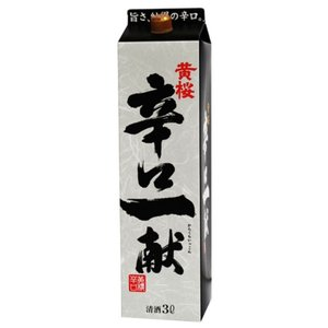 日本酒 普通酒 辛口一献 3Lパック 黄桜 3000ml|plat-sake