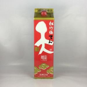 日本酒 普通酒 松竹梅 天 てん 2Lパック 宝酒造 2000ml|plat-sake